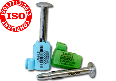 SCELLÉS ISO 17712: 2013