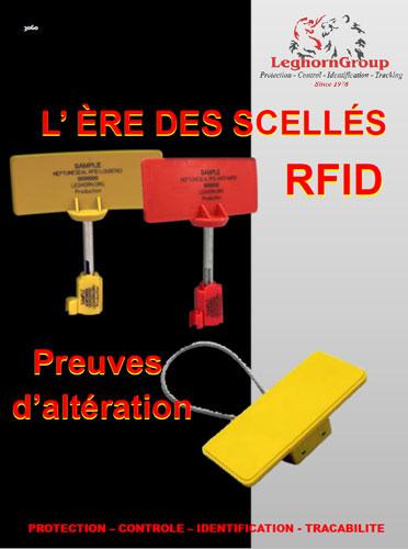 SCELLES RFID POUR LE TRANSPORT E LA LOGISTIQUE
