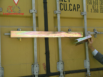 barres antivol container cargoclamp comment l'utiliser
