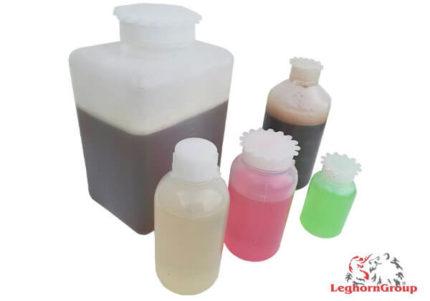 bouteilles rondes plastique ouvertures etroites