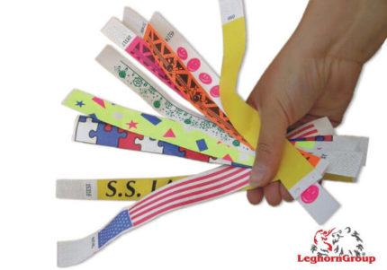 bracelets d'identification en tyvek
