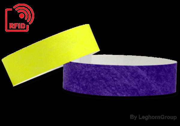Bracelets En Tyvek RFID