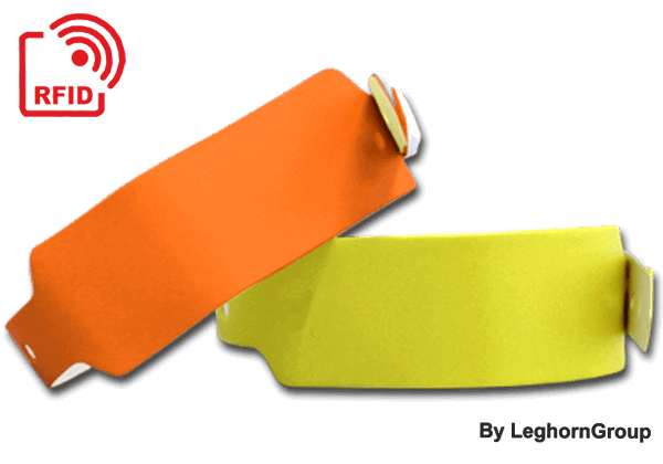 Bracelets RFID LF/HF/UHF En PVC