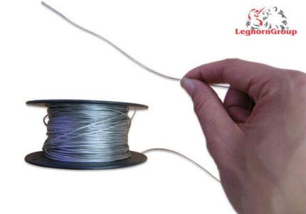 cable en acier plastifie