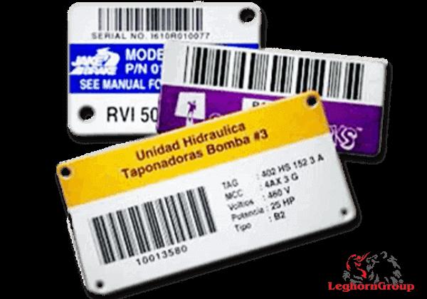 etiquettes d'identification des biens