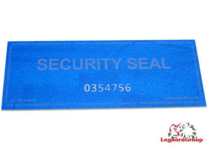 etiquettes de securite void avec residu d'encre