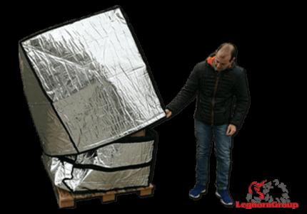 housse pour palette aluminium art td 005
