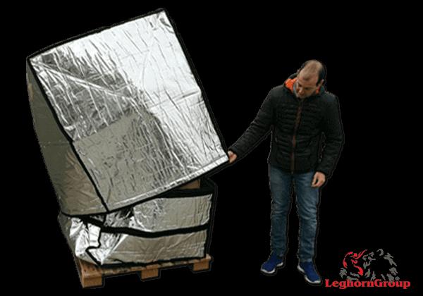 Housse Pour Palette En Aluminium Art: TD 005