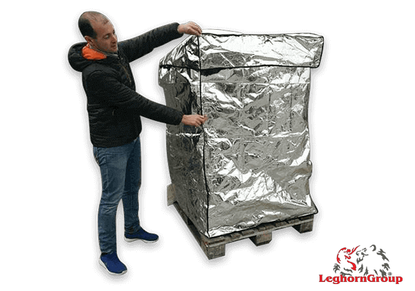 Housse Pour Palette Thermique En Aluminium