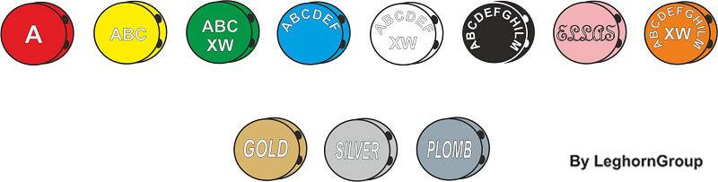 plombs plastique colore plombex couleurs personnalisations