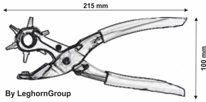 poinconneuse pour alfeoseal dessin technique
