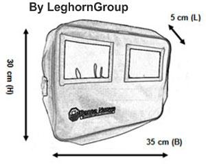 sac transport d'argent oslo dessin technique