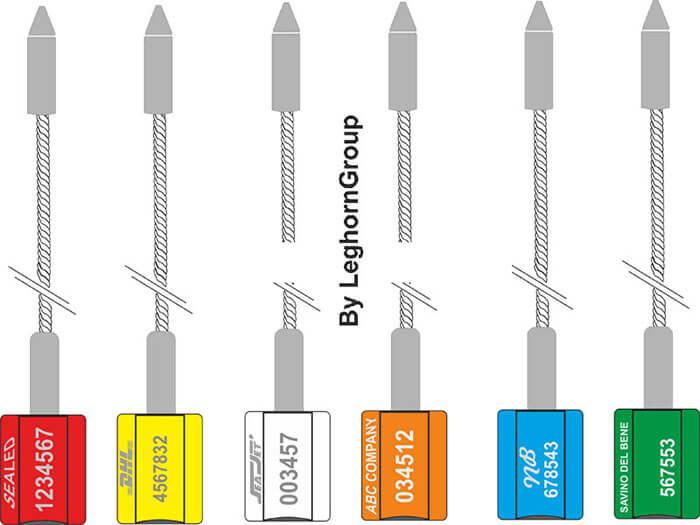 scelle cable acier atlas couleurs personnalisations