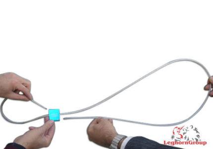 scelle cable avec tete aluminium oceanus