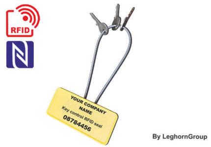 scelle cable rfid resistant autobloquant porte cles
