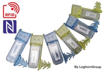 scelle fil plastique avec tag rfid anchorflag