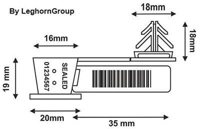 scelle fil transparent anchorflag dessin technique