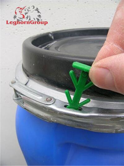 scelle plastique drumlock comment l'utiliser