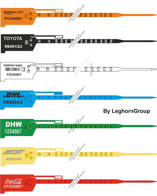 scelle plastique easytight 6×294 mm couleurs personnalisations