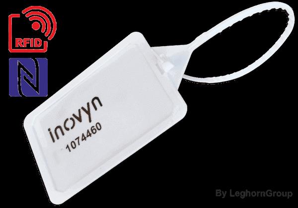 Scellés En Plastique Réglable Titanseal RFID 5×424 Mm
