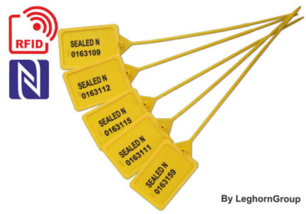 scelle plastique reglable titanseal rfid 5×424 mm