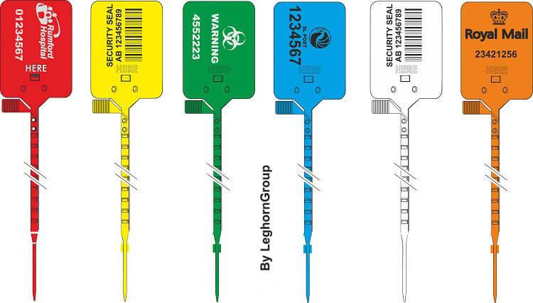 scelle plastique titanseal 5×328 mm couleurs personnalisations