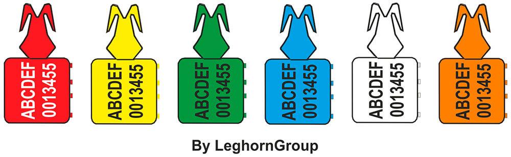 scelle plastique zip stop standard couleurs personnalisations