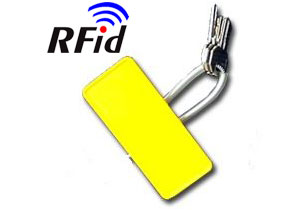PORTE-CLES RFID A CABLE