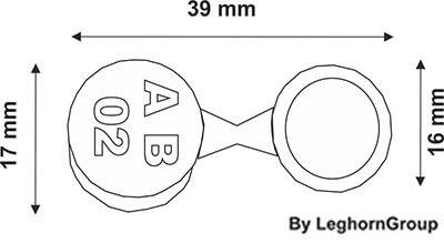 scelle securite metal criusseal dessin technique