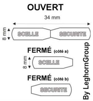 scelles acier matcrimp 34×8 dessin technique