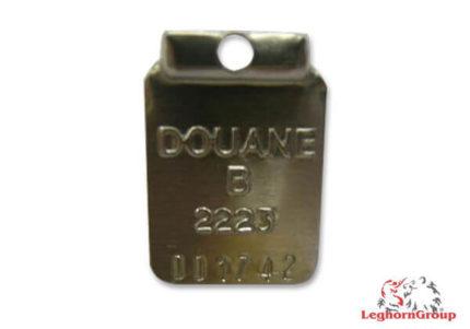 scelles aluminium pour raffineries douanes craluseal