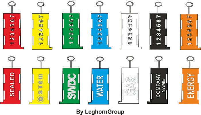 scelles autobloquants triton couleurs personnalisations