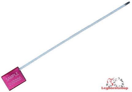 scelles avec cable acier reglable 3×200 mm