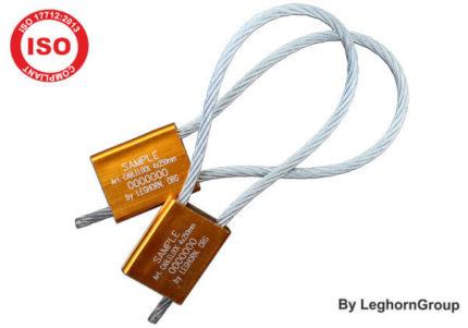 scelles cable acier reglables 4×250 mm