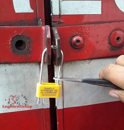 scelles cadenas padlockseal 160-4 comment l'utiliser