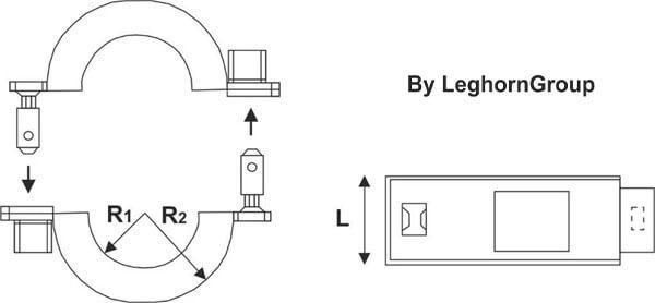 scelles compteurs connectionlock dessin technique