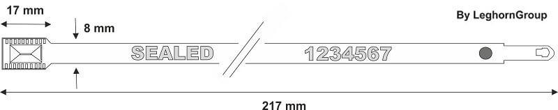 scelles metallique metal seal dessin technique