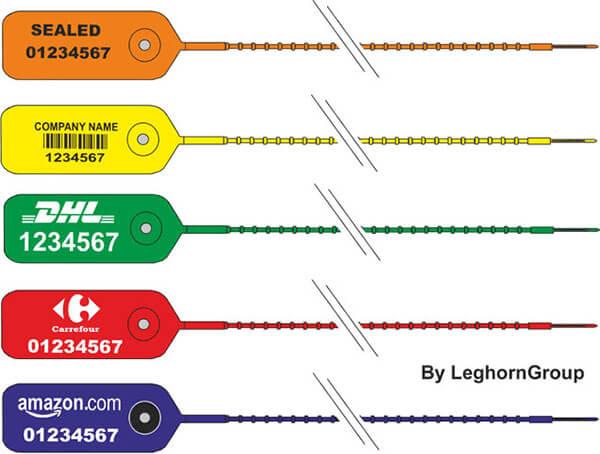 scelles plastique adjustseal couleurs personnalisations
