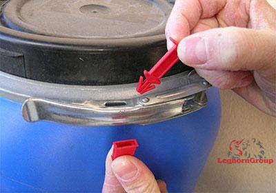 scelles plastique drumseal comment l'utiliser
