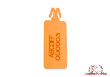 scelles plastique pour sacs de securite zip stop long