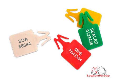 scelles plastique pour sacs de securite zip stop standard
