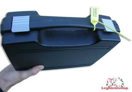 scelles plastique reglable icarus 2×220 mm