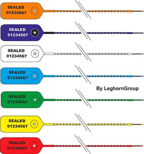 scelles plastique scite seal couleurs personnalisations