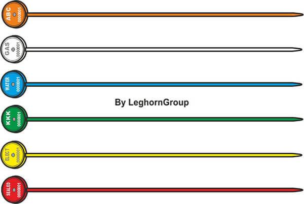 scelles reglables meropeseal 1×161 mm couleurs personnalisations
