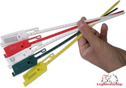 scelles securite plastique reglable longseal 6×420 mm