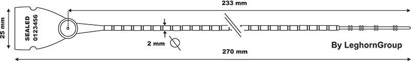 scite seal lgh 103 2×270 mm dessin technique