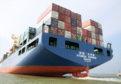 Transports Internationaux via container