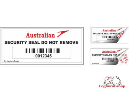 etiquettes securite pour compagnies aeriennes aeroports