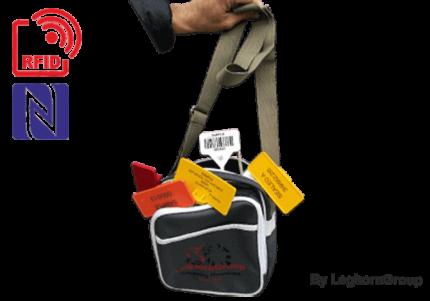 sac a bandouliere kefalonia avec kit complet de scelles rfid