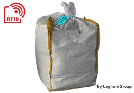 scelles rfid pour la gestion des grands sacs de boues